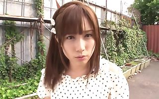 Fabulous Japanese D/s Minami Kojima in Amazing solo girl, outdoor JAV clamp
