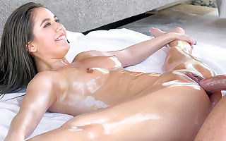 Lucy Nymph in Oiled And Pliable Girl - Lubed