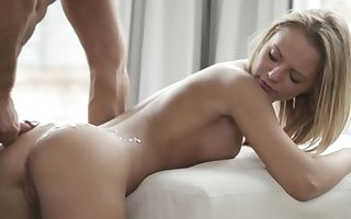 Erotic sex in 2 scenes with beautiful squealing